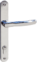 chrome bifold plus handle for linear