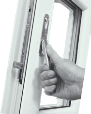 revolution handle for aluminium folding doors