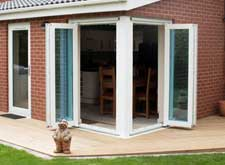 scheme 220 rehau type pvc folding door